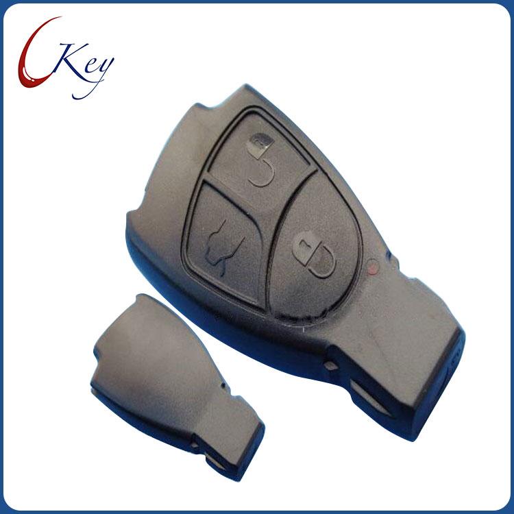 Benz 3 Buttons Smart Key Case No Logo