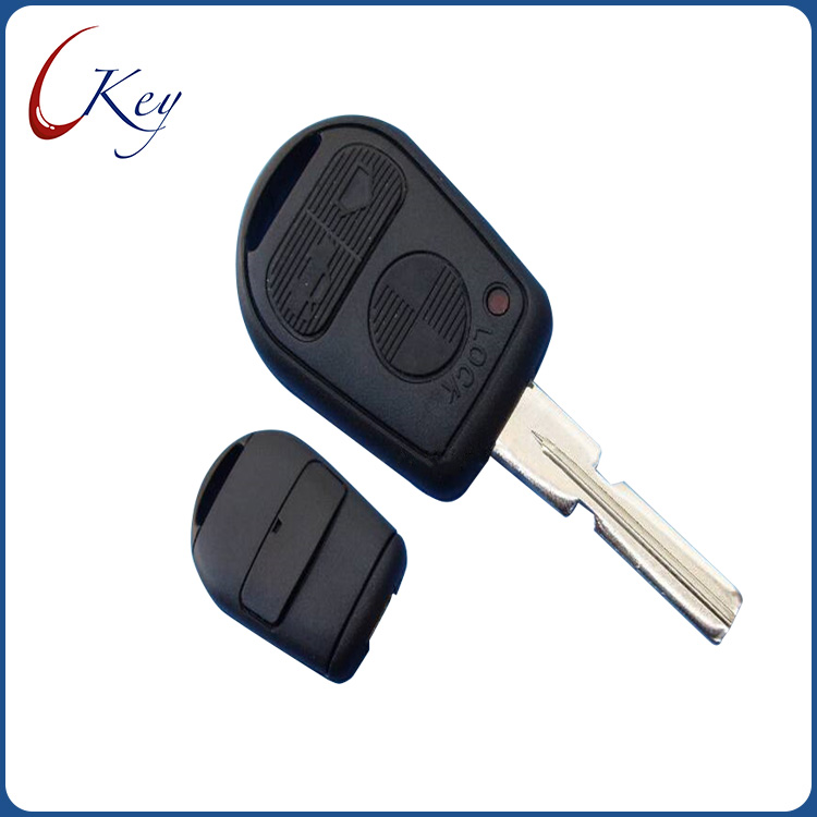 BMW 3 Buttons Remote Key Shell With HU58 Blade