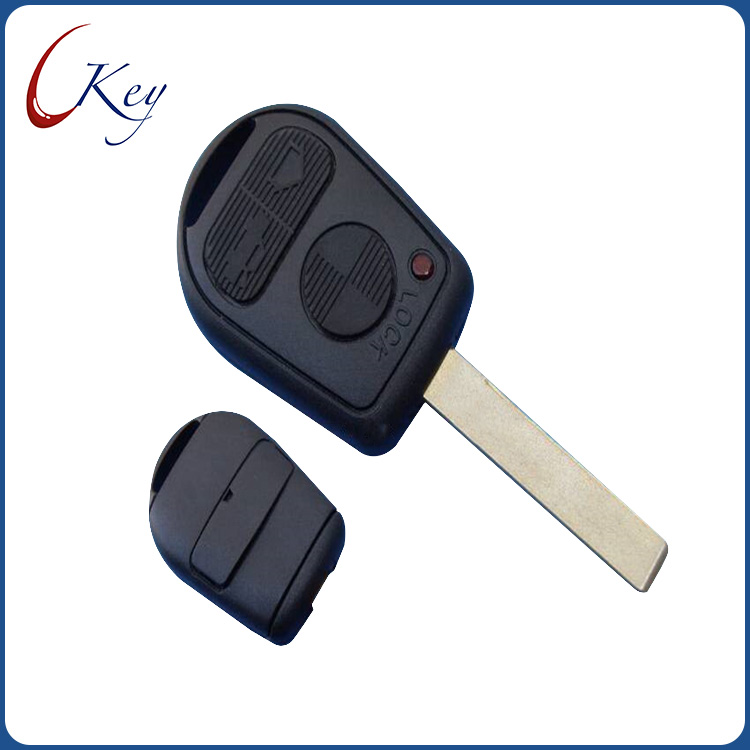 BMW 3 Buttons Remote Key Shell With HU92 Blade