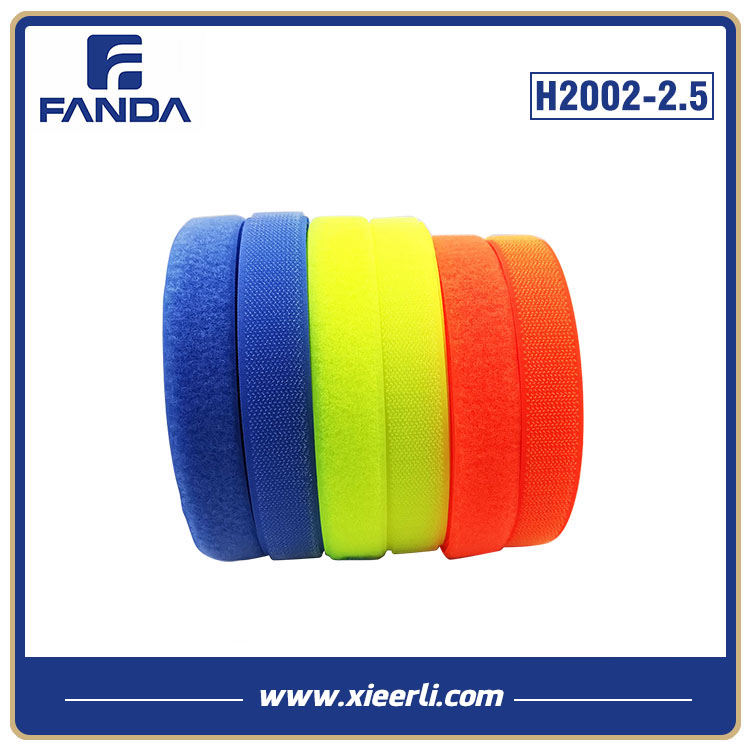 Fluorescent Color Hook And Loop Nylon Polyester