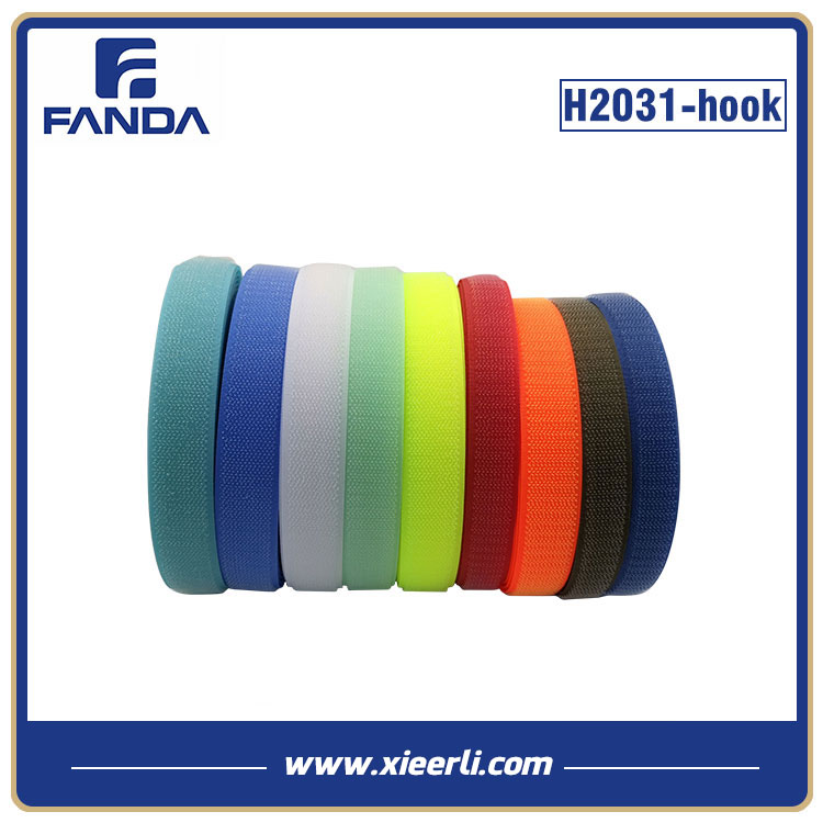 Multicolor Hook and Loop Tape Nylon Polyester Mixed