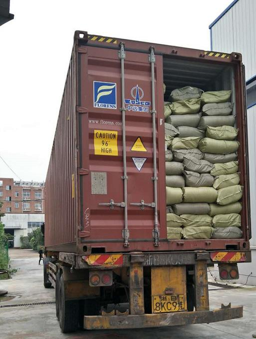1X40HQ hook and loop load to Pakistan