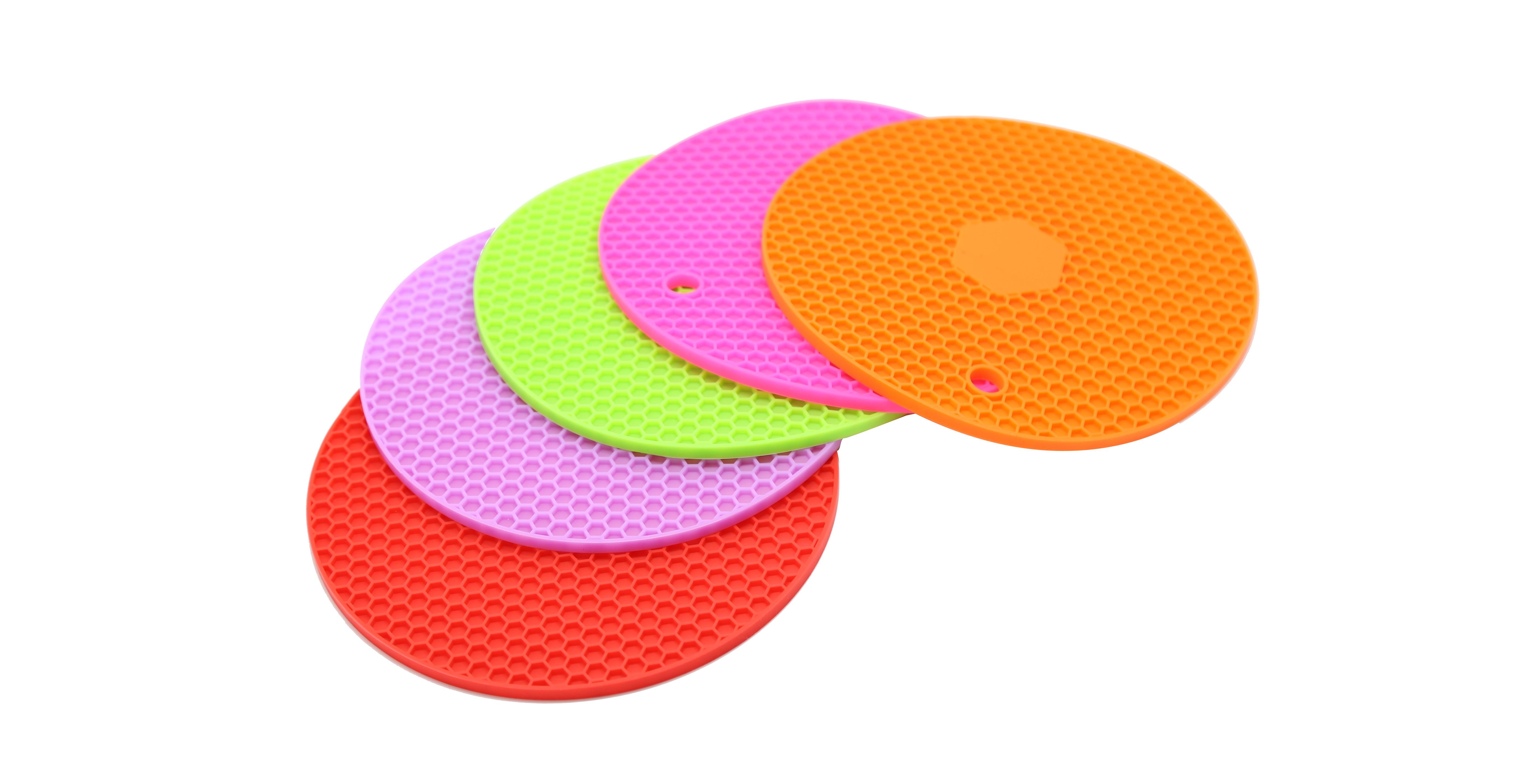 Honeycomb silicone heat pad use