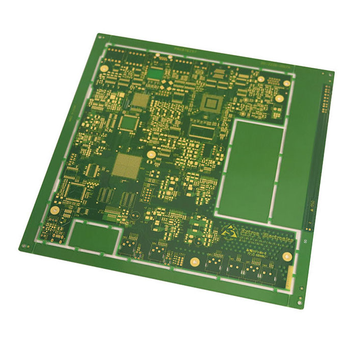 6 Layers 0.55mm Customized High Precision Prototype Double Sided PCB Board for Telecommunication