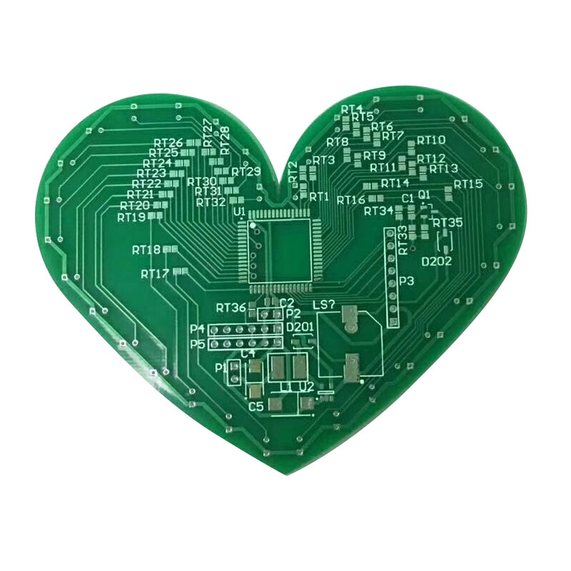 Double Layer pcb prototype cheap price pcb manufacturer