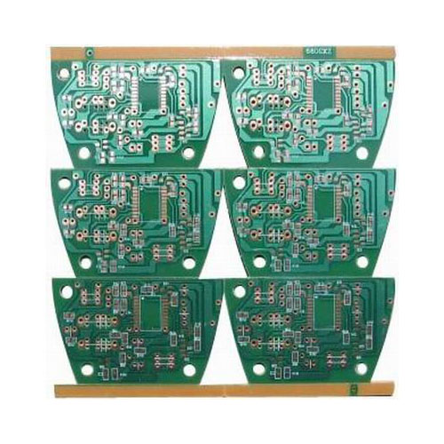 Double Sided PCB Boards with HASL Circuit board prototype Aluminum PCB