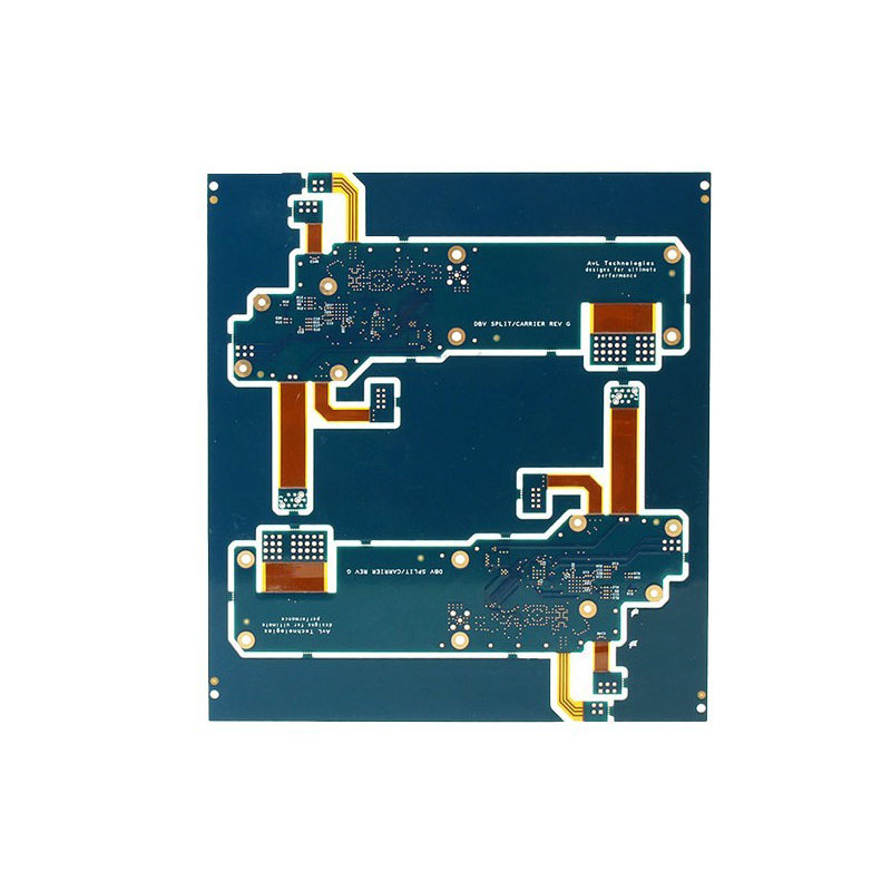 Electronics Components High Frequency Rogers5880 SY FR4 microwave PCB board
