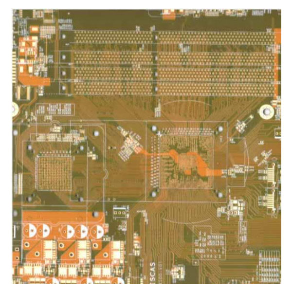 Multilayer pcb 100% tested working computer pcb Motherboard with BGA High density