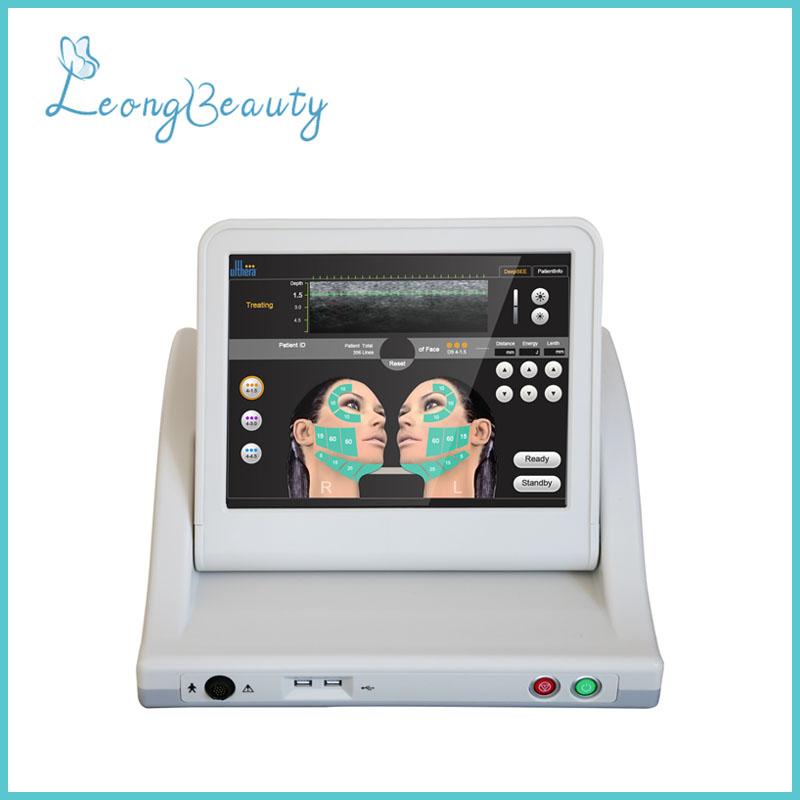 Máquina dobrável de HIFU para o emagrecimento do corpo do levantamento de cara