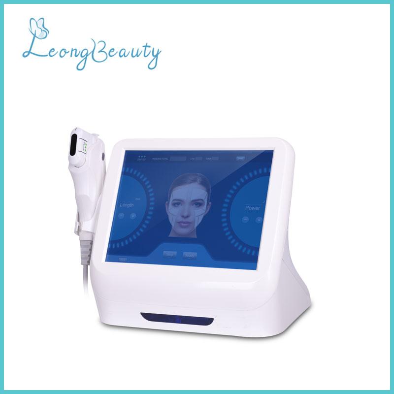 Máquina do Portable 5 cartuchos HIFU para a cara e o corpo