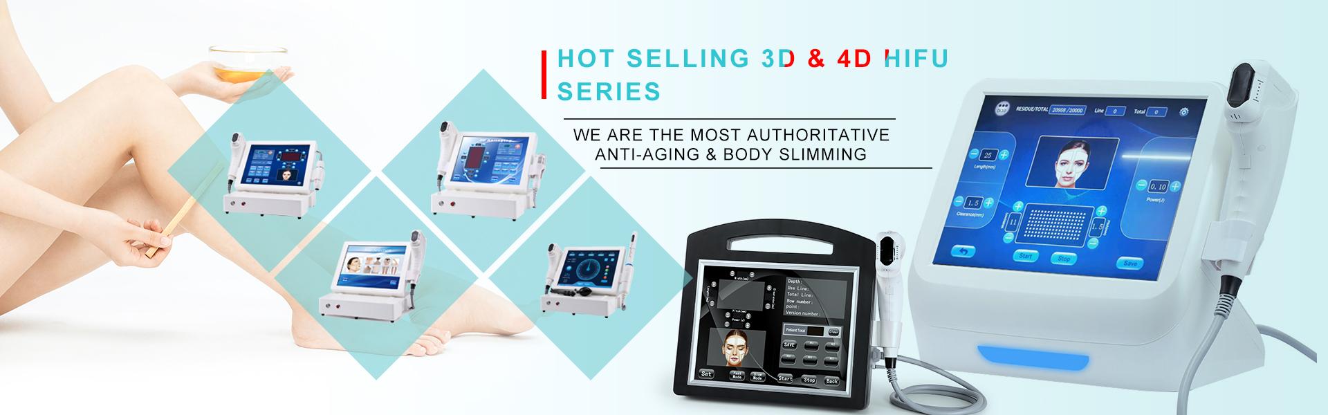 حار بيع 3D و 4 D HIFU سلسلة
