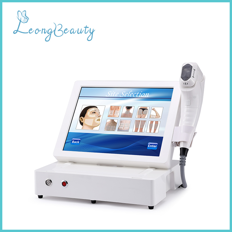 3D HIFU Foldable Machine For Wrinkle Removal Skin Tightening
