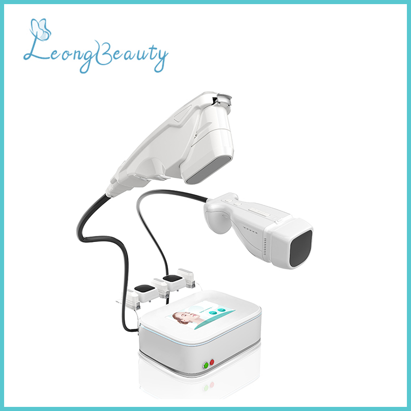 2in1 HIFU And LIPOHIFU Face Lifting Fat Reduction Portable Machine