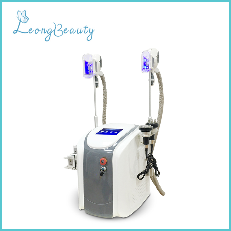 Portable White Grey Color Multifunction Fat Freezing Weight Loss Machine