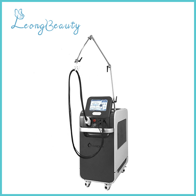 755nm Alexandrite Laser 1064nm Yag Laser Hair Removal