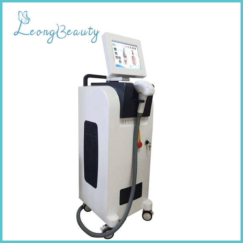 808nm 755nm 1064nm Diode Laser Hair Removal Painless Machine