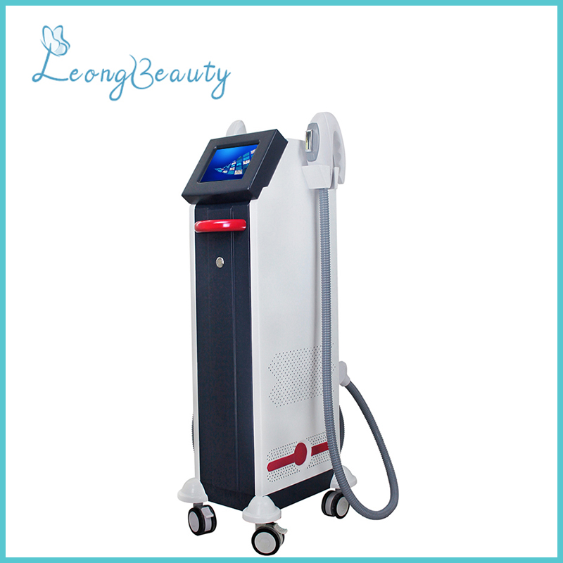 Double Handle OPT E-light Painless Hair Removal Machine