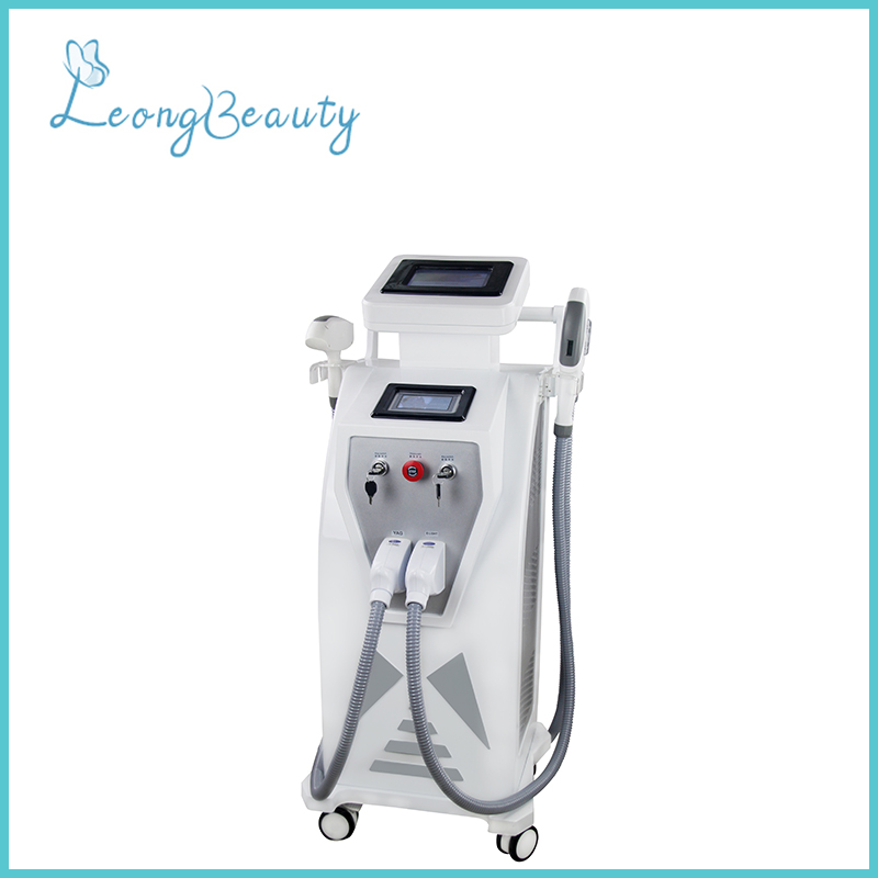 3in1 OPT RF Yag Laser Hair Removal Tattoo Removal Machine