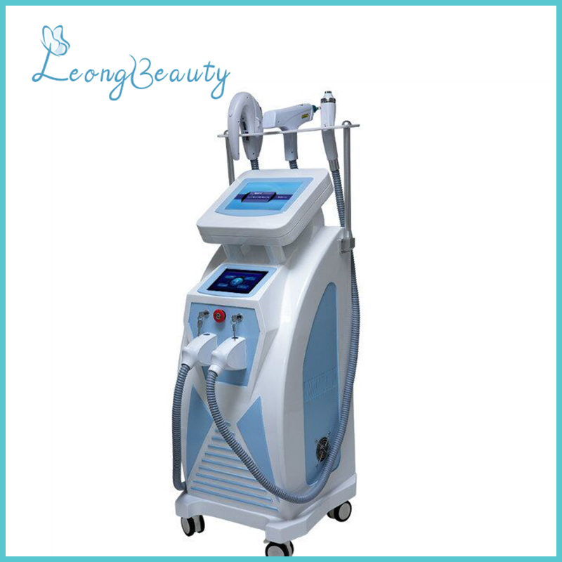 E-light Rf Yag Laser 3in1 Machine For Hair Removal Tattoo Removal