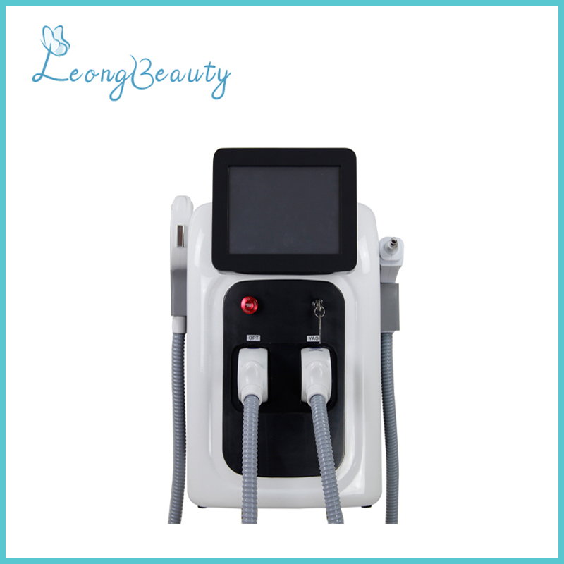 OPT Yag Laser 2in1 Machine For Hair Removal Tattoo Removal