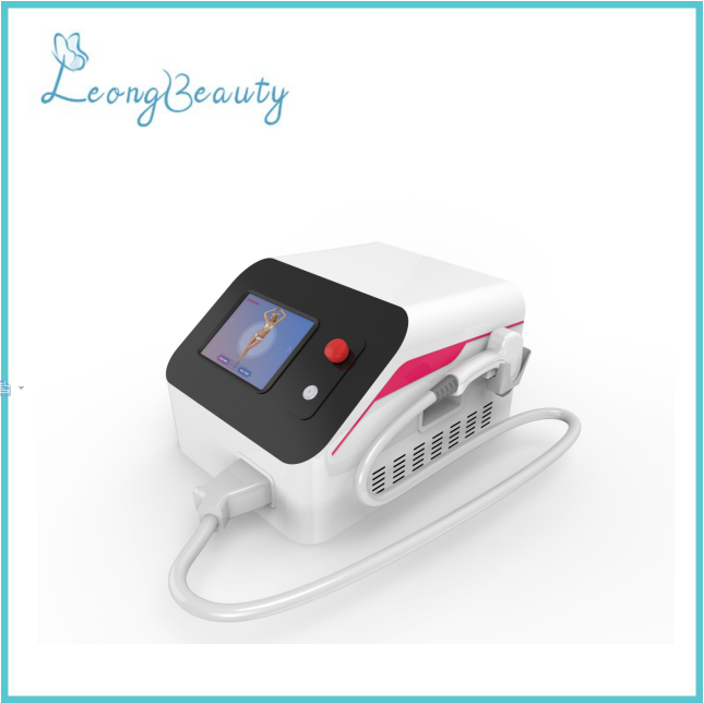 Portable 808 Diode Laser Hair Removal Machine for Beauty Salon
