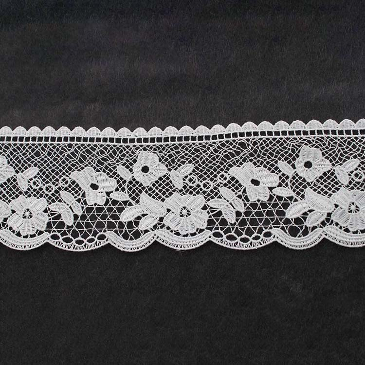 Embroided Lace Trim