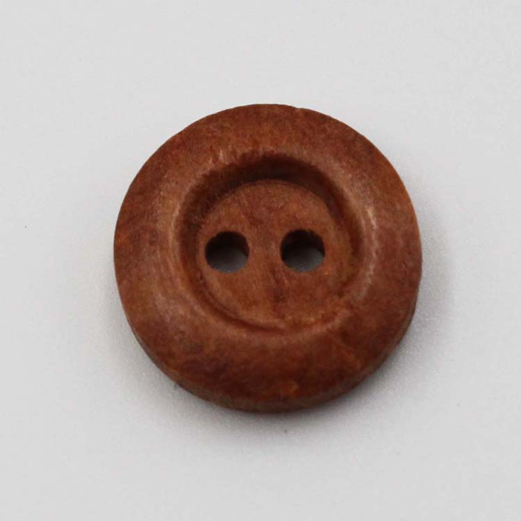 Wooden Button With 2 Hole