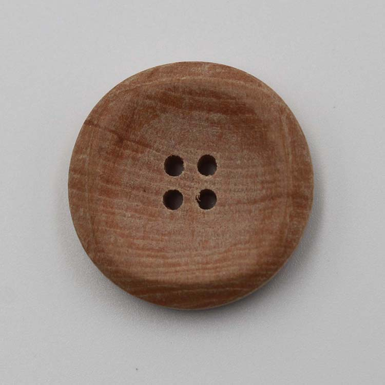 4 Hole Wood Button