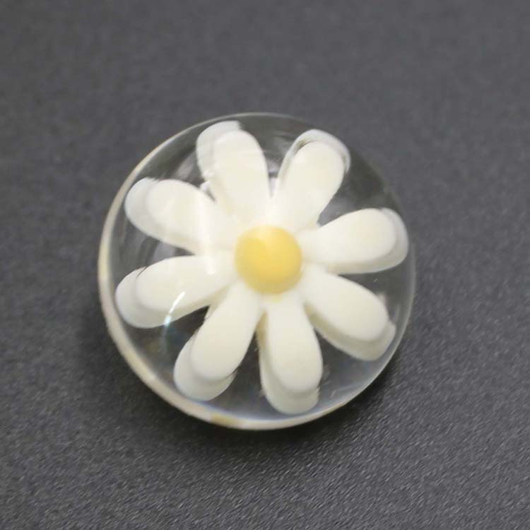 Flower Button For Clothing