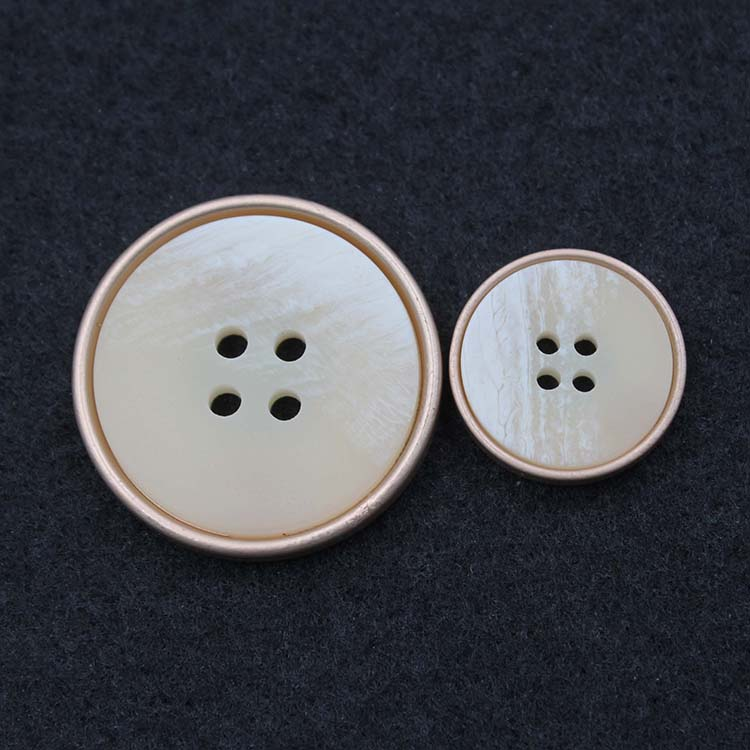 Metal And Plastic Button