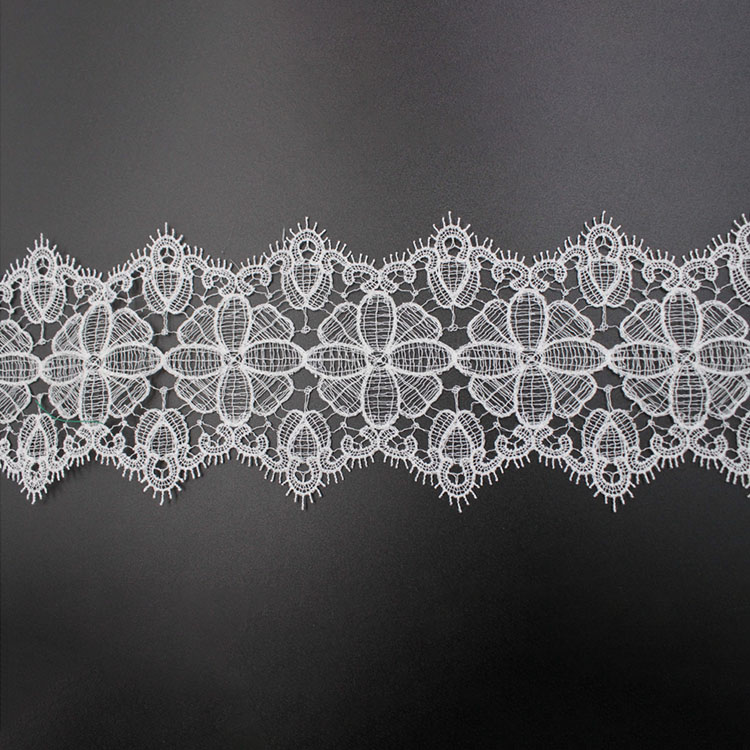 3D Hollowed-out Flower Lace