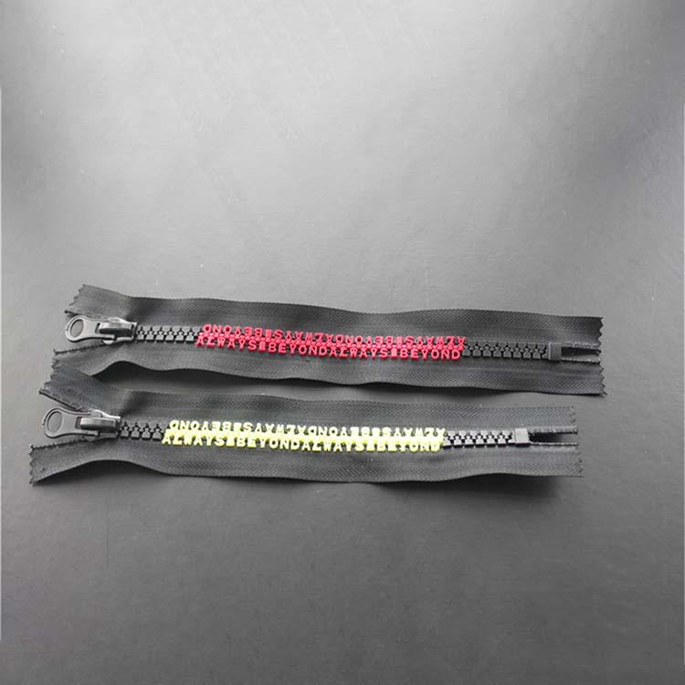 Black Zipper For Garment