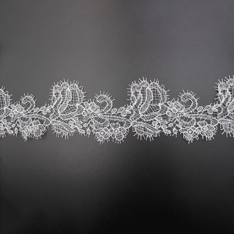 Border Chemical Embroidery Lace Trimming