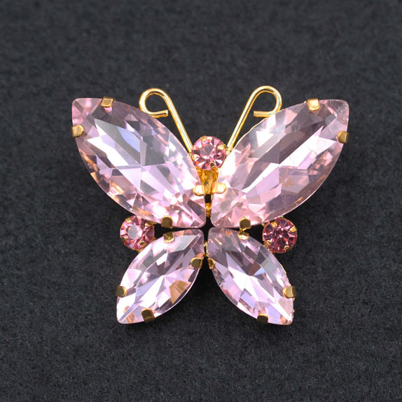 Butterfly Rhinestone Trimming