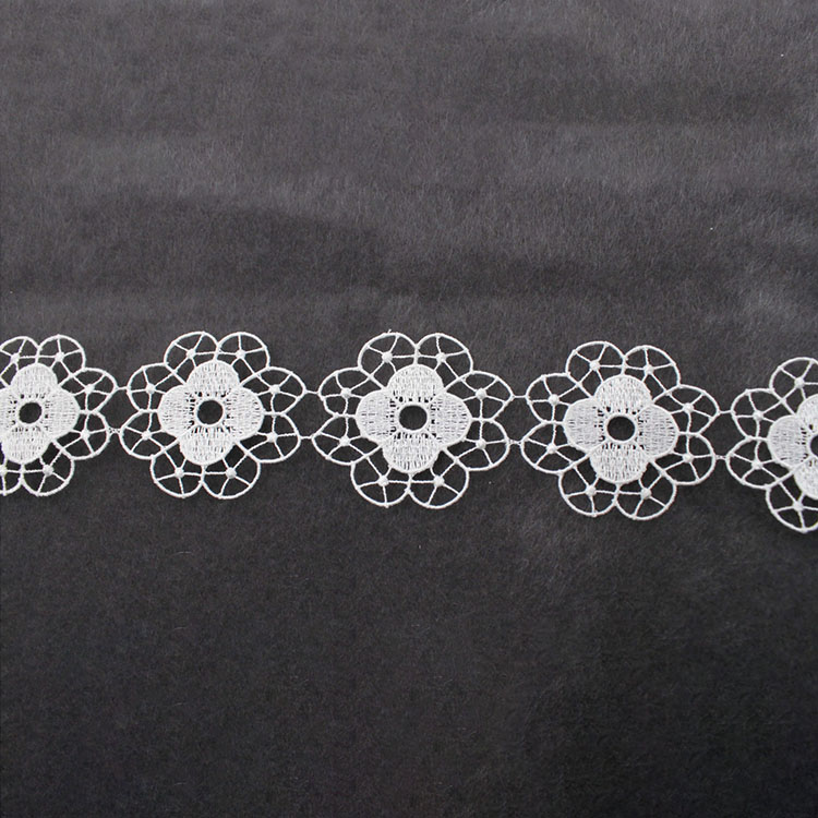 Clothes Border Decorative Fabric Water Soluble Lace