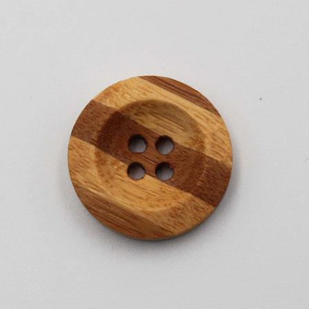 Color Wood Button 15mm