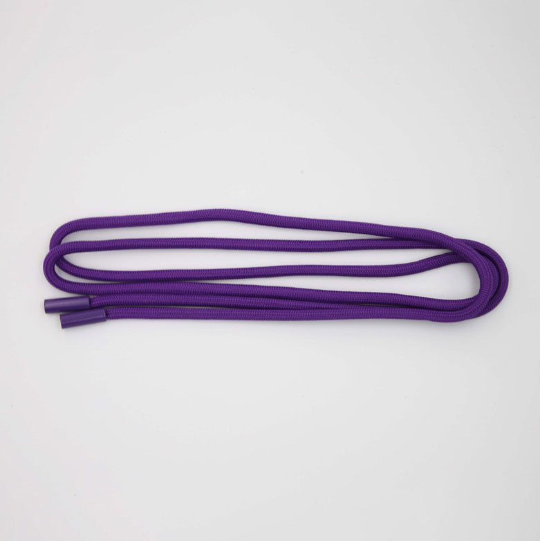 Cool All Purple Round Hoodie Cord With Plastic Tip