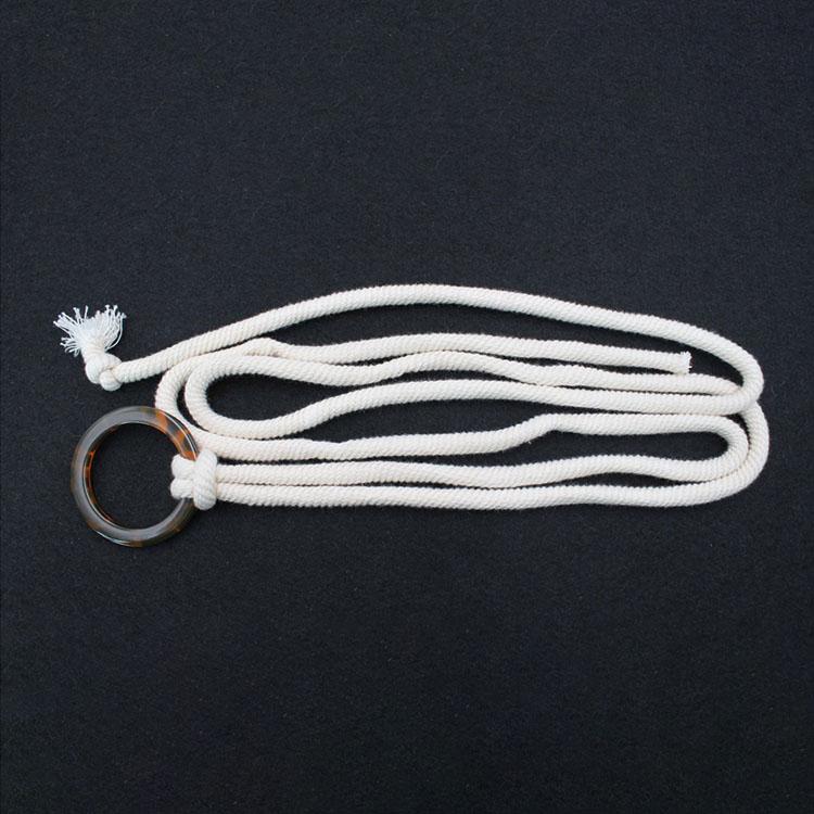 Памучен појас за јаже со брава од смола