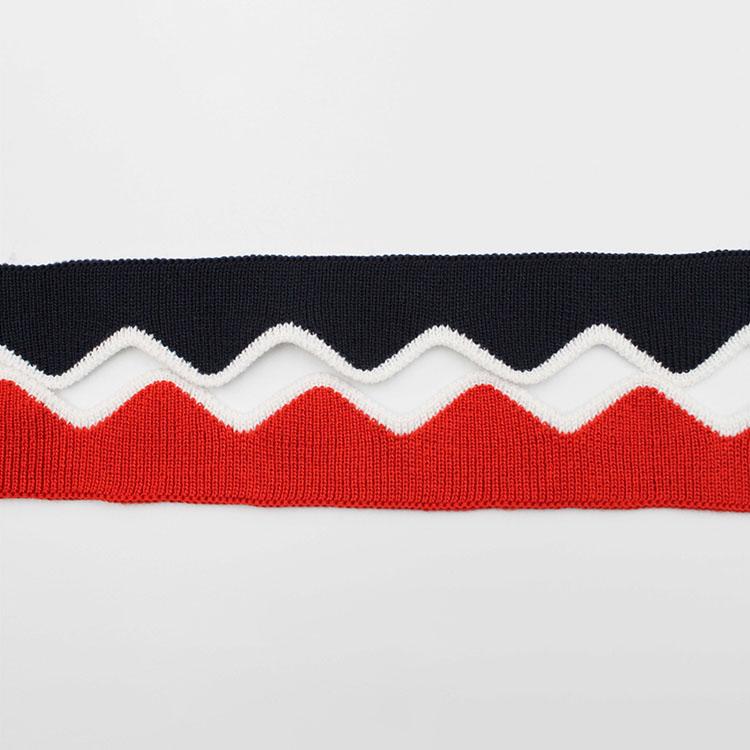 Custom Weave Ribbed Cuff