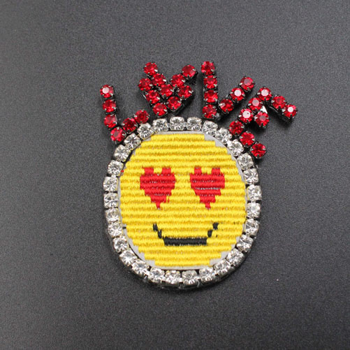Cute Pineapple Beaded Patches