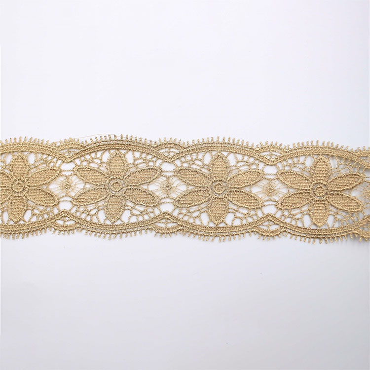 Embroidery Polyester Lace Non-elastic Lace