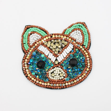 Fashion Beaded Animal Patches