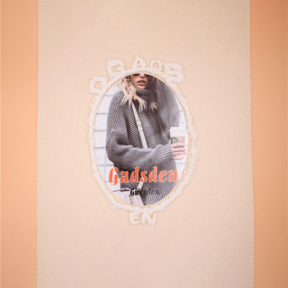Fashion Faux Fur Heat Transfer Printing