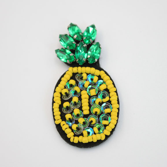 Fashion Mini Sew On Beaded Patches