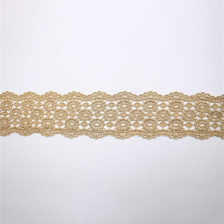 Guangzhou New Fashion Non-elastic Lace
