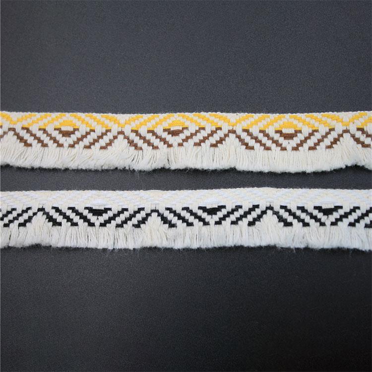 High Quality Fashion Mixcolor Accessories Braid CottonTrimTassel