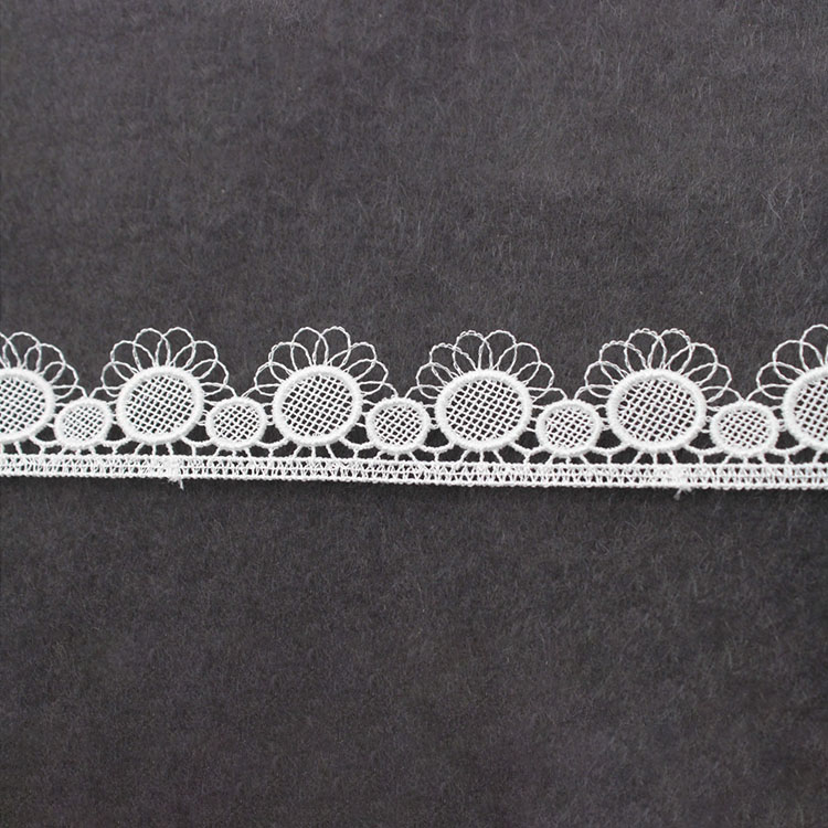 Hot Sale New Designer Polyester Embroidery Water Soluble Lace