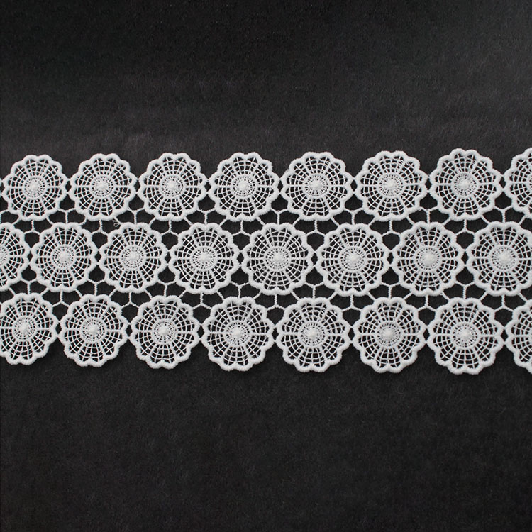 Latest NigerianLaces2020 African Lace FabricWaterSolubleLace