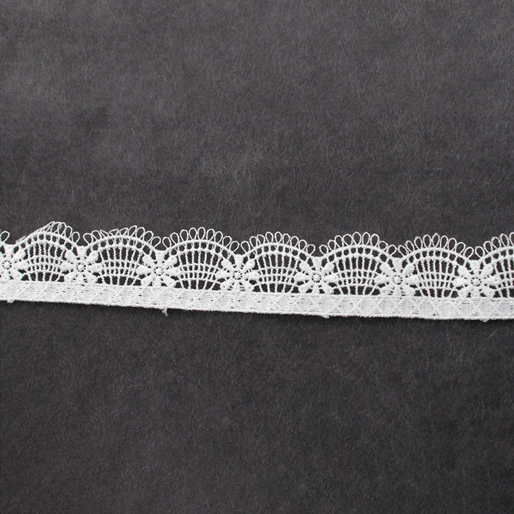 Off White Watersolublelace Fabric Embroidery Chemical Guipure Lace
