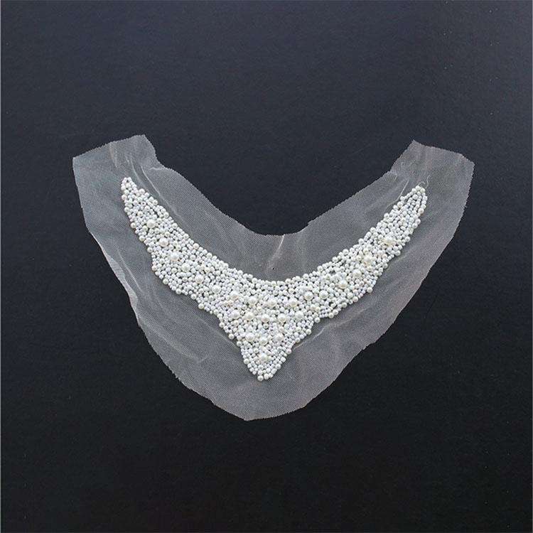 Pearl Beaded Handedmade Collars